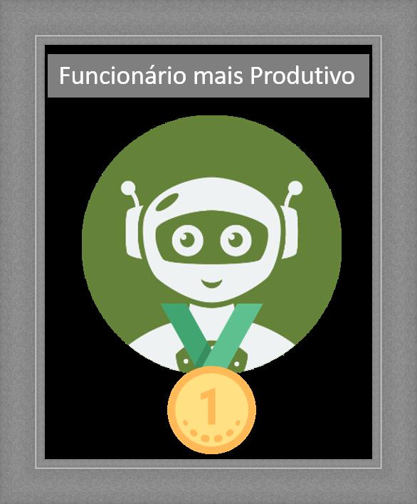 #Case - Robô SuperClient Homenageado como funcionário mais produtivo!